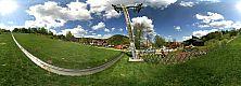 Centrum Kolorowa - widok na Alpine Coaster oraz letni tor saneczkowy