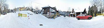 Dolna stacja wyciągu na Kopę - zima