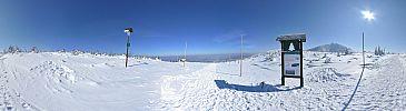 Kopa ( w oddali Śnieżka )